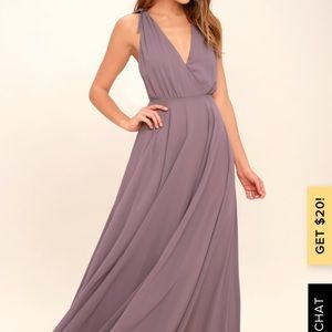 Lulus bridesmaid dress. Originally $84